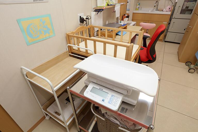 当院での乳児健診